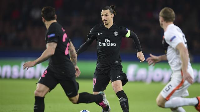 Et un nouveau record pour zlatan qui devient le meilleur buteur du psg en coupe d 39 europe ligue - Meilleur buteur en coupe d europe ...