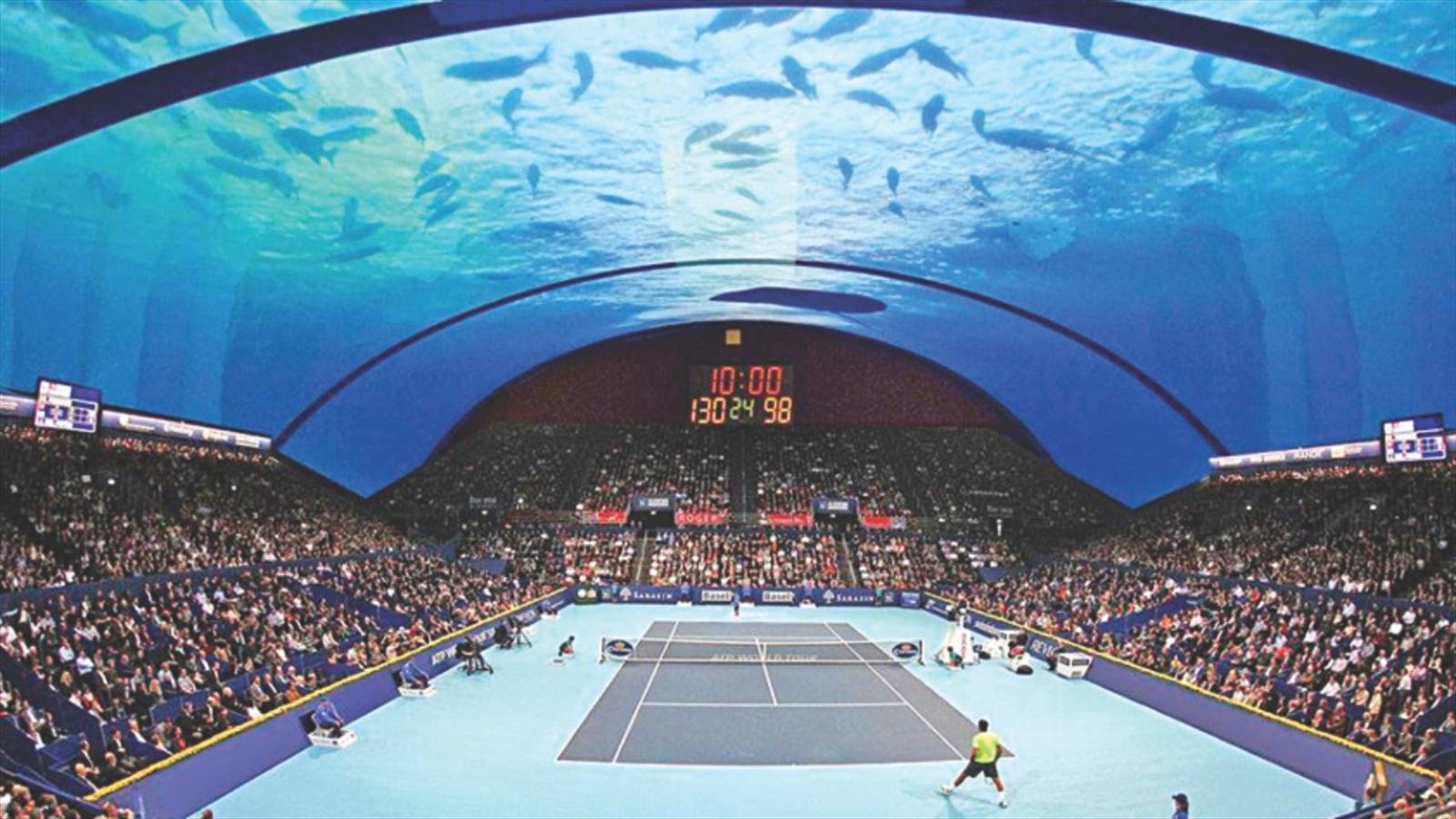 Lo Stadio Sottacqua Di Dubai Si Pu 242 Fare Sar 224 Pronto Nel