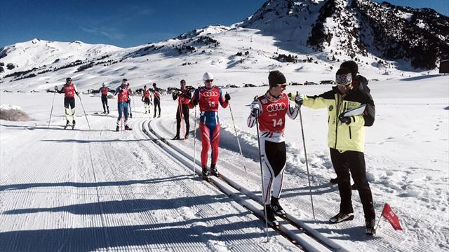 El mejor esquí de fondo joven español en la selección para los YOG y las Copas OPA
