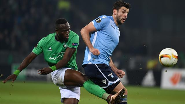 Saint-Etienne et la Lazio se quittent dos à dos