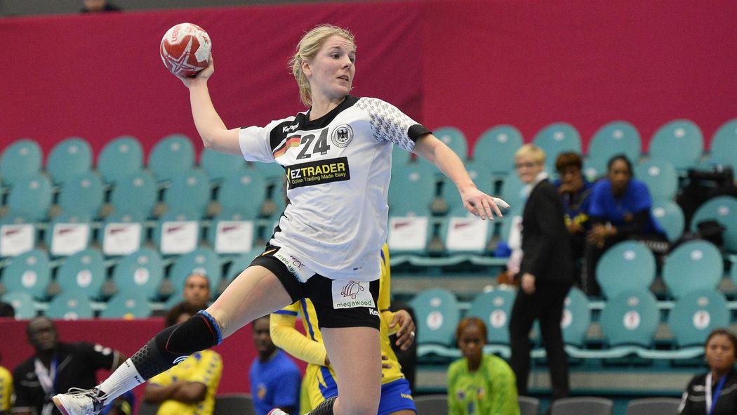 Deutschland Schlägt Kongo Bei Der Handball Wm Der Damen Wm D