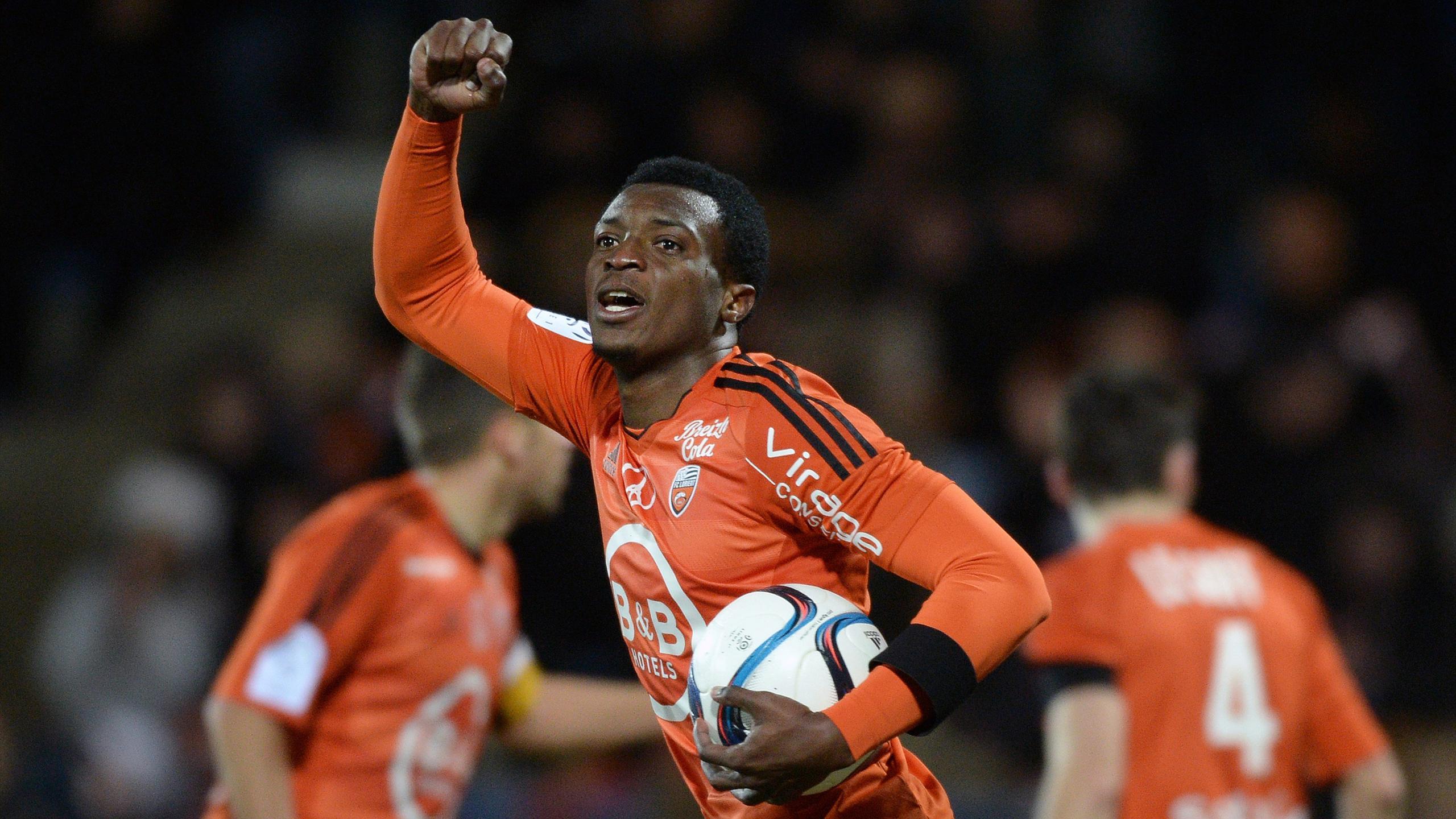 Benjamin Moukandjo avec Lorient (2015)