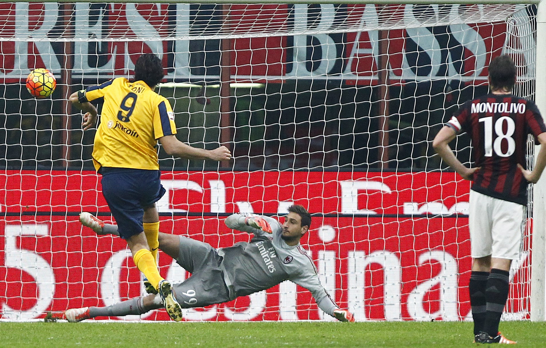 Le pagelle di Milan-Hellas Verona 1-1 - Eurosport