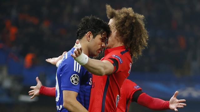 """Malgré leur passif, David Luiz assure que Diego Costa """"serait le bienvenu"""" au PSG"""