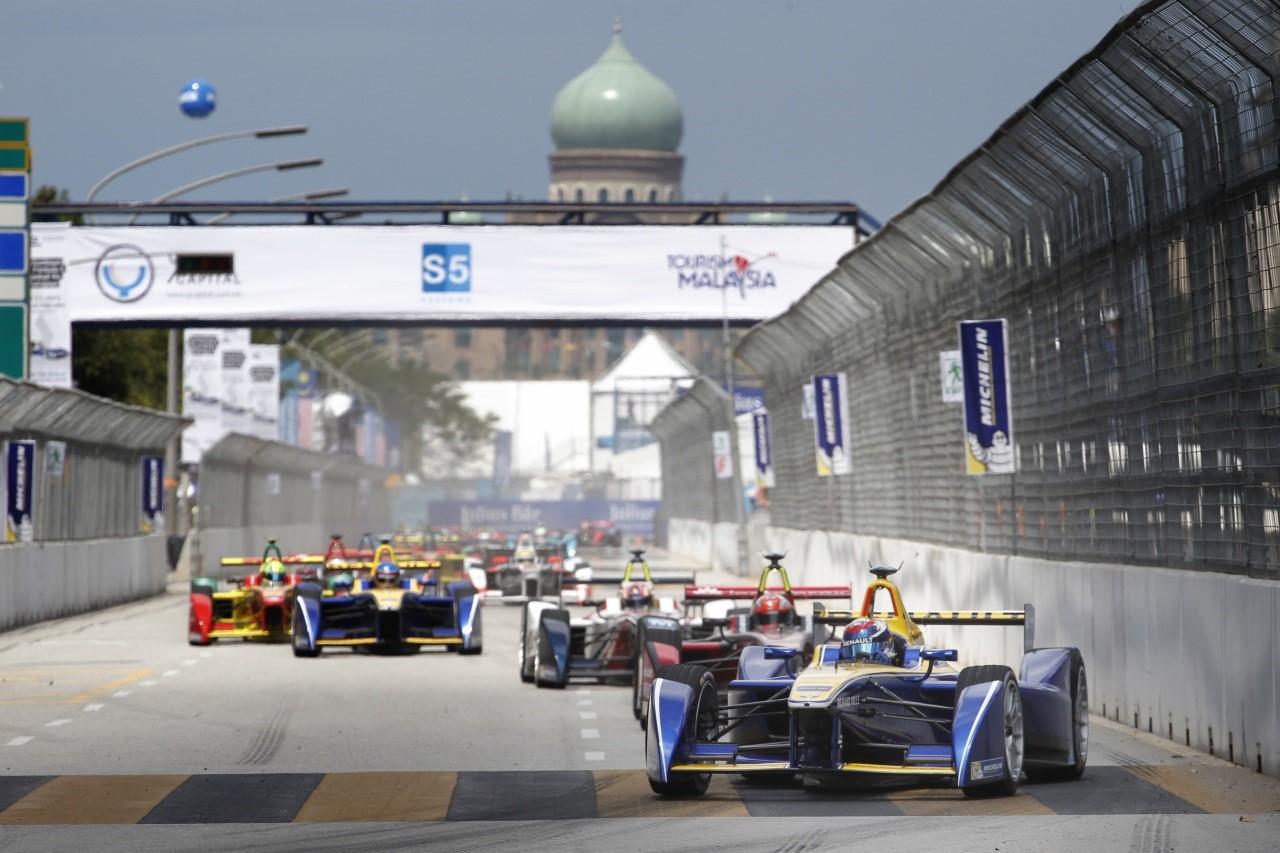 Formula E - race