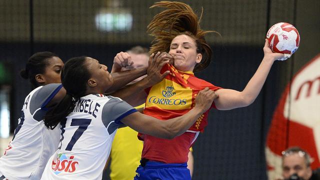 España-Francia: Un penalti condena a las Guerreras (21-22)