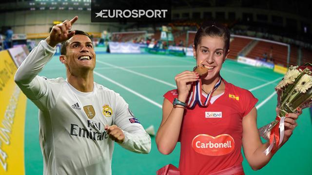 """Carolina Marín: """"En Indonesia es como si fuera Cristiano Ronaldo"""""""