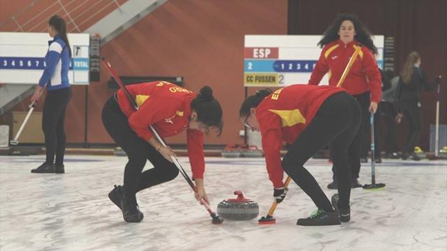 El camino de España en el Mundial B Junior