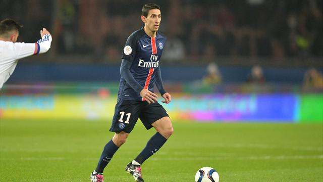 Après Thiago Silva, Di Maria manquera aussi au PSG face à Toulouse