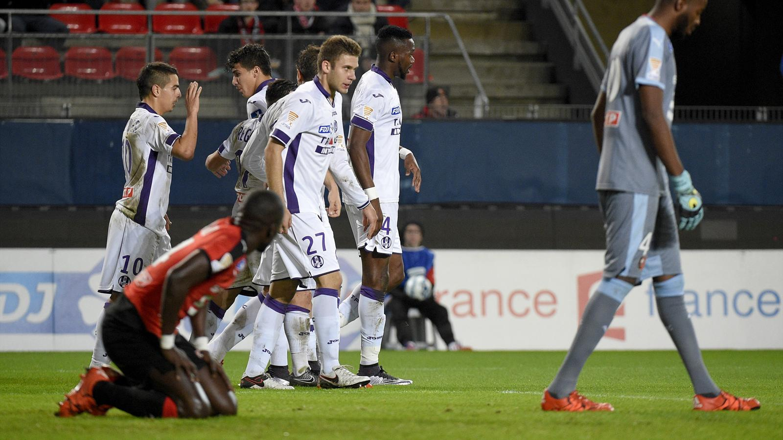 Ben yedder porte toulouse rennes guingamp arrache son billet pour les quarts face nice - Billet coupe de la ligue 2015 ...