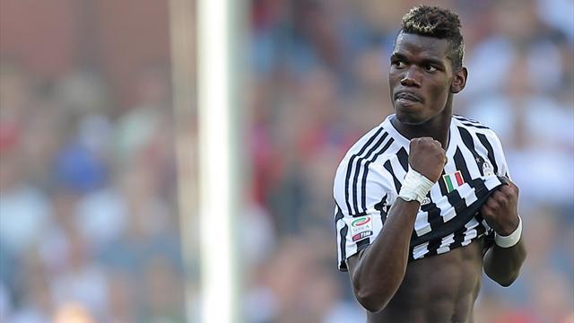 Pogba participe au carton de la Juve, la Roma et la Fiorentina éliminées