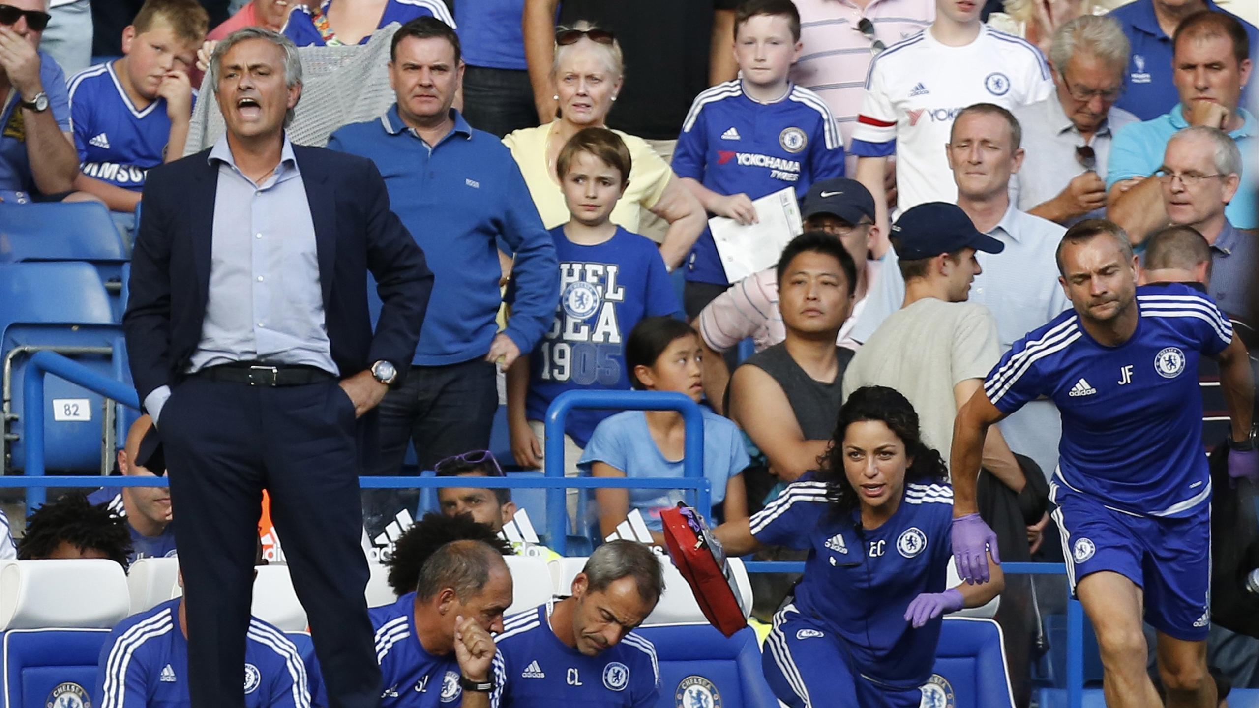 Mourinho sur le banc de Chelsea à l'été 2015