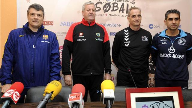 Tres candidatos para intentar arrebatar el indiscutible favoritismo del Barça