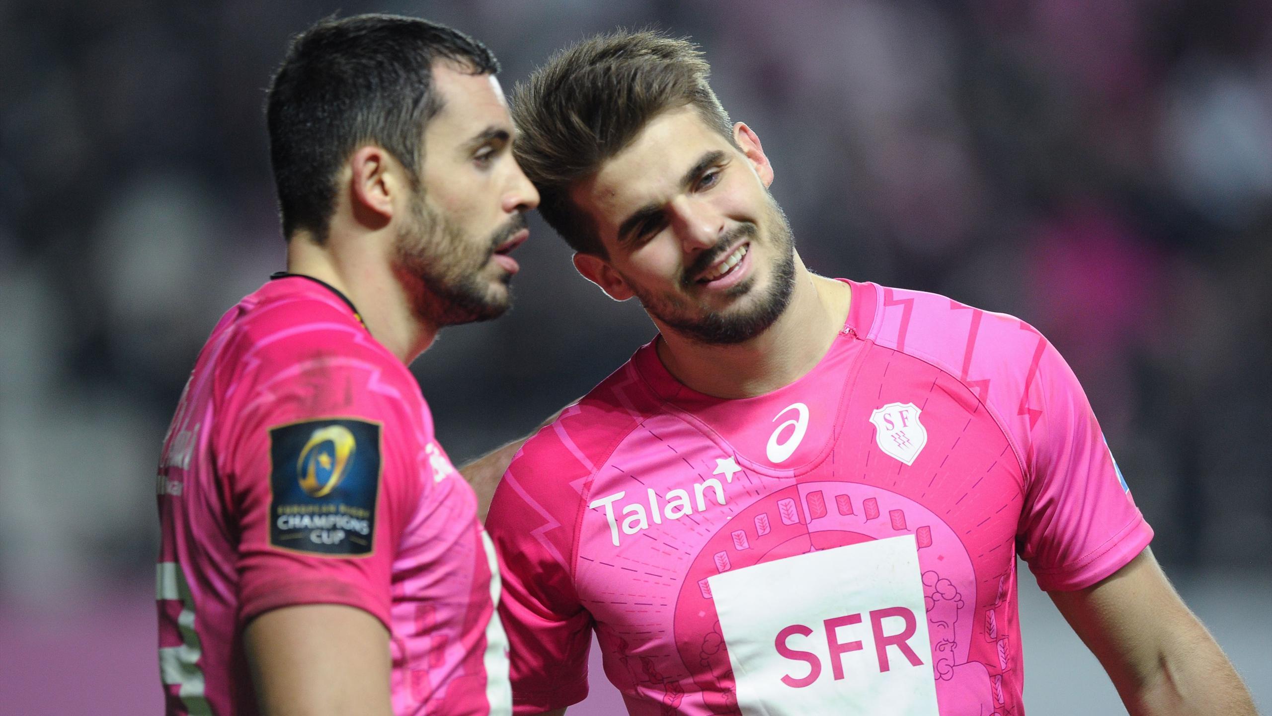 Geoffrey Doumayrou et Hugo Bonneval (Stade français) - 19 décembre 2015