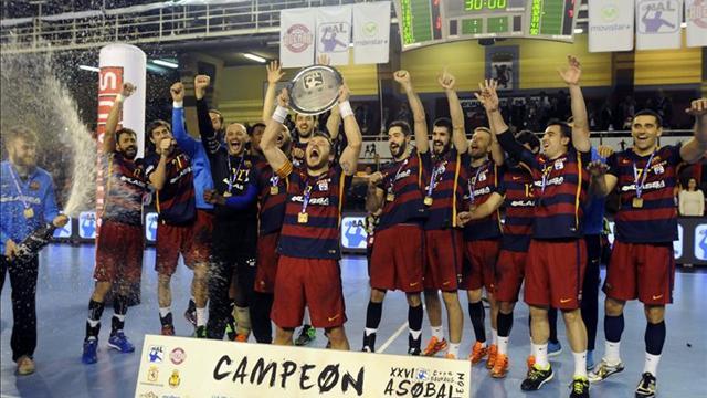 35-31. El Barcelona tuvo que ponerse serio ante un gran La Rioja