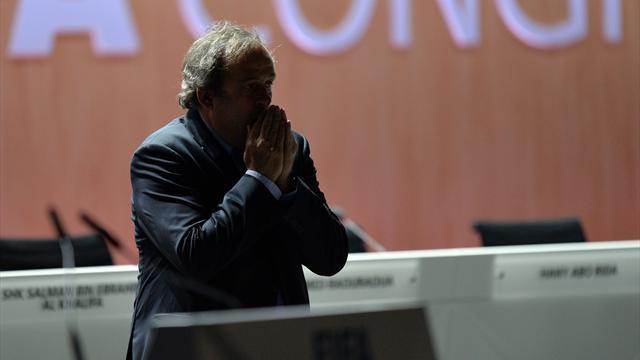 """Furieux contre cette """"décision insultante et honteuse"""", Platini va saisir le TAS"""