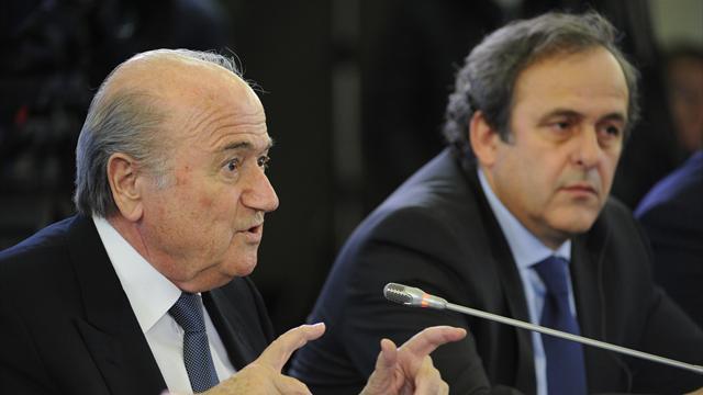 Blatter : «Ça me fait plaisir de retrouver Platini»