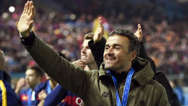 Luis Enrique, mejor entrenador; y ocho de Madrid y Barça en el once