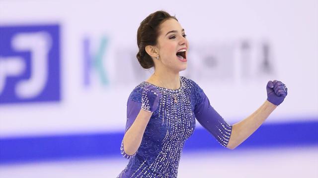 Video evgenia medvedeva la regina del ghiaccio in