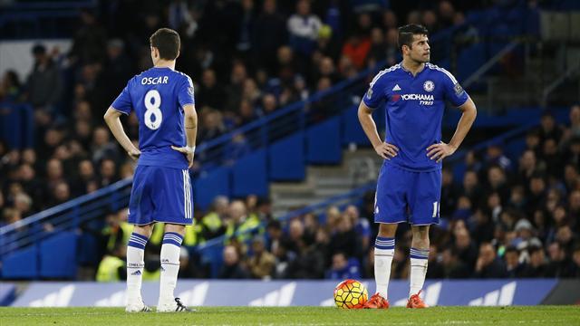 The Telegraph: Оскар и Коста повздорили на тренировке «Челси»