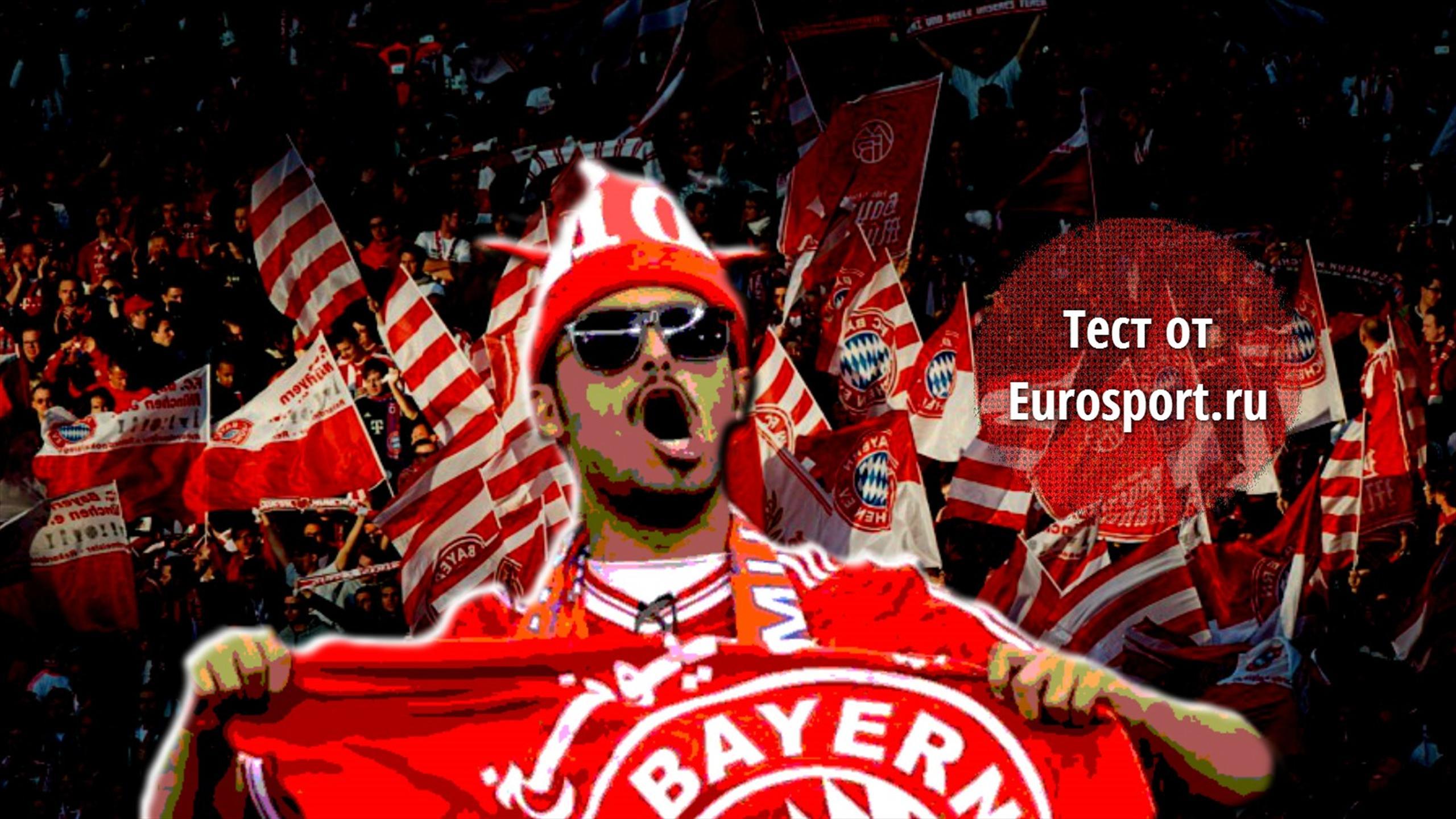 Бавария футбол фанаты