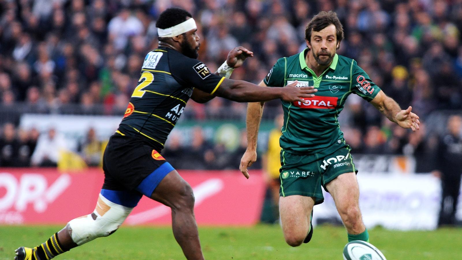 Conrad Smith (Pau) face à La Rochelle - 27 décembre 2015