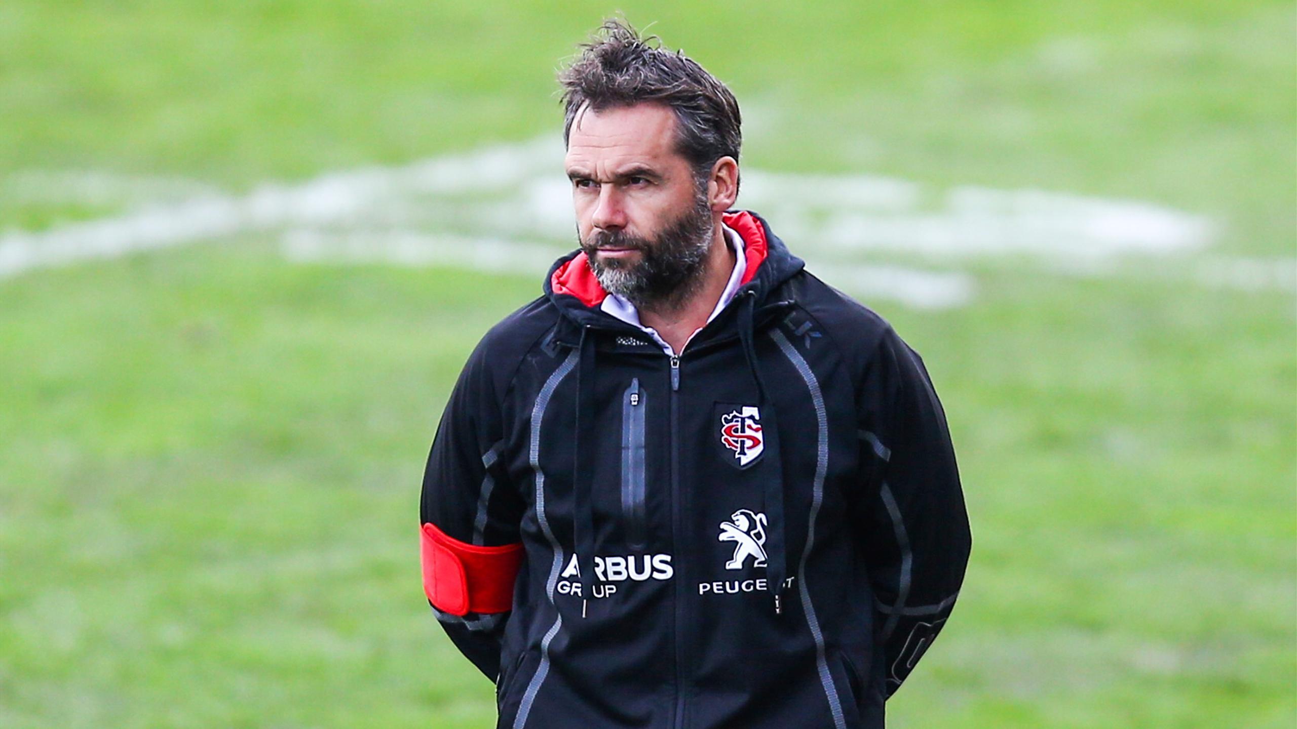 Ugo Mola, l'entraîneur en chef de Toulouse