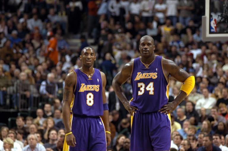 2003, NBA, Los Angeles Lakers, Kobe Bryant, Shaquille O'Neal (imago)