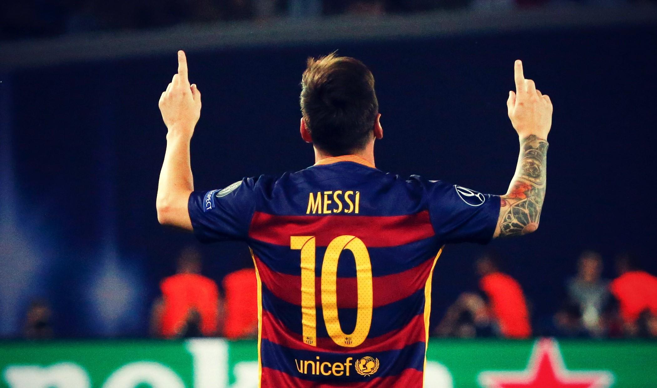 Лионель Месси, «Барселона»