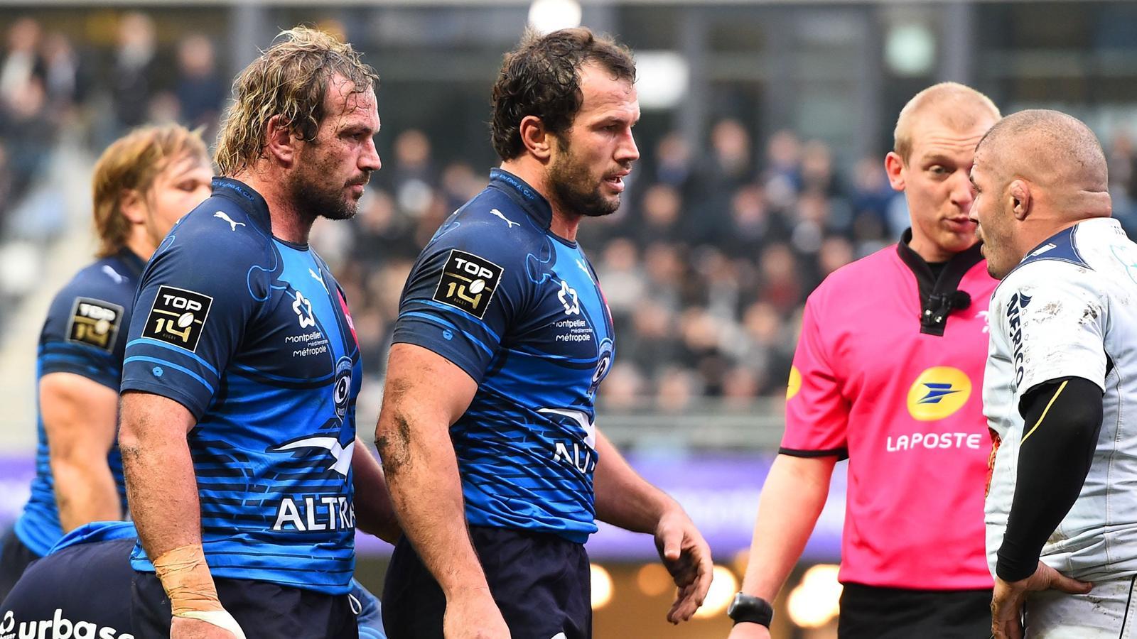 Bismarck Du Plessis (Montpellier) face à Agen - 27 décembre 2015