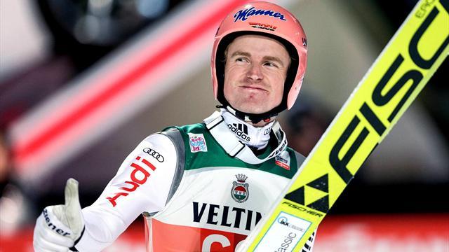 Фройнд выиграл первый этап «Турне четырех трамплинов»