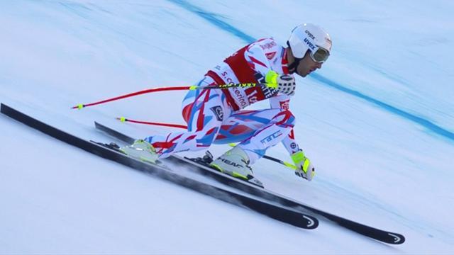 Adrien Théaux dompte la pente de Santa Caterina et explose la concurrence