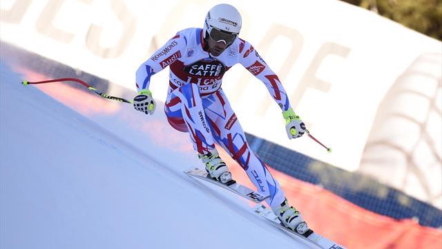 Adrien Théaux victorieux, David Poisson troisième — Santa Caterina