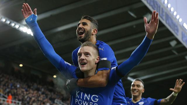 Héros de Leicester, Vardy prolonge jusqu'en 2019