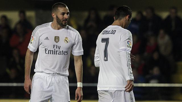 Ronaldo et Benzema dans le groupe du Real pour affronter Manchester City