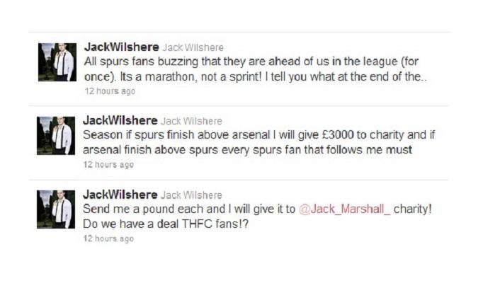 Твиты Джека Уилшера