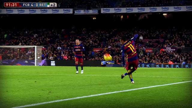 D'un contrôle exceptionnel, Neymar a fini l'année en beauté