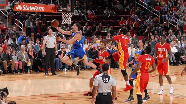 Pas de Curry ? Pas de soucis pour les Warriors quand Thompson répond présent
