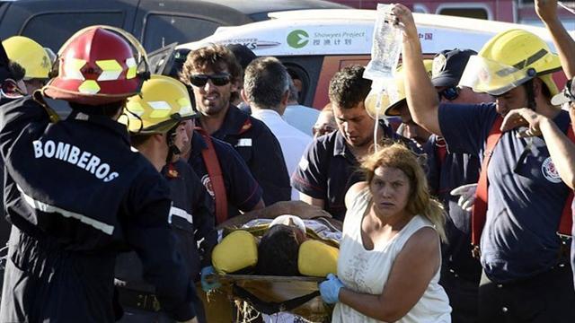 10 зрителей пострадали в результате аварии в прологе «Дакара»