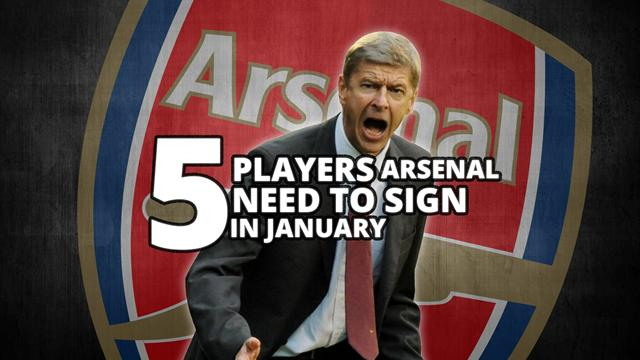 VIDEO - 5 players Arsenal need to sign in January ...
