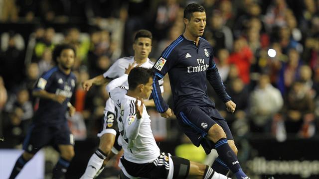 Пако же класс. «Реал» чуть не проиграл в Валенсии