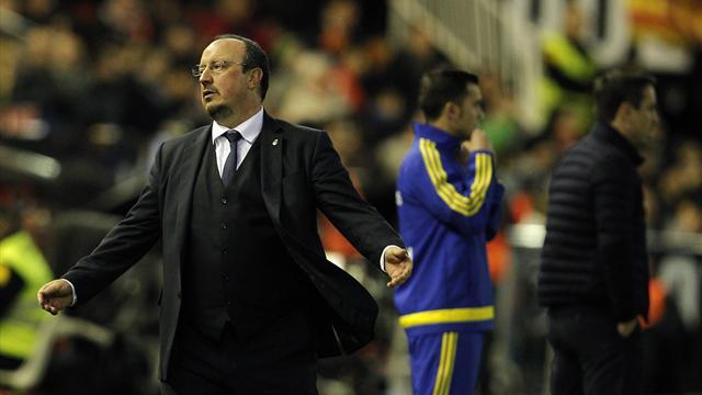 Valence ne fait pas de cadeau au Real de Benitez