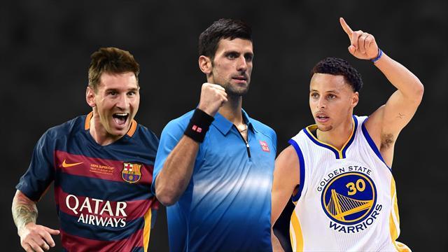 Novak Djokovic wins Eurosport's World Star of the Year award