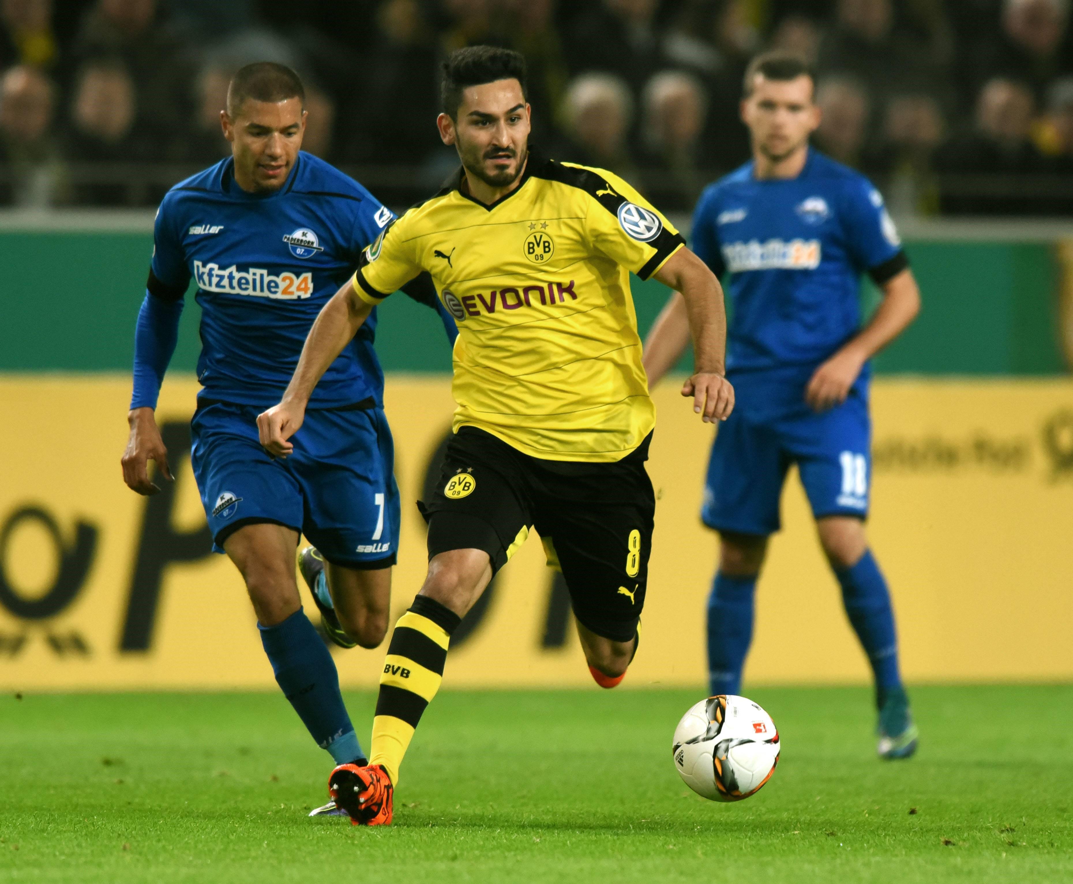 Ilkay Gundogan (Dortmund) en Coupe d'Allemagne 2015-2016