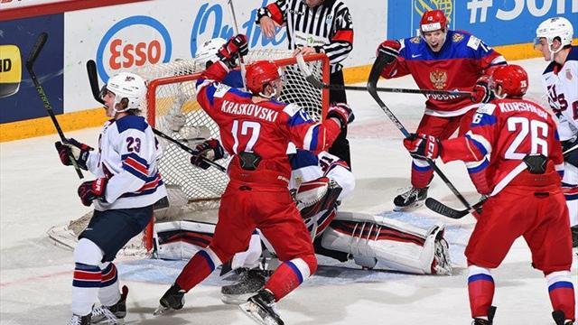 Сборная России вышла в финал молодежного чемпионата мира
