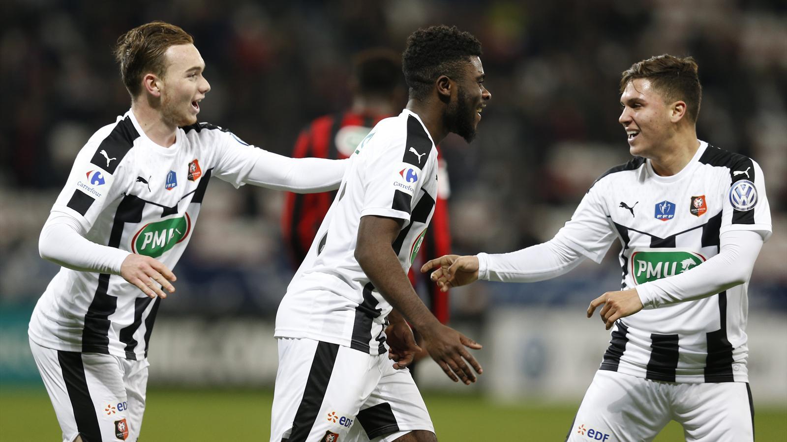 Coupe de france 32e de finale rennes sort nice au bout - Resultats coupe de france football 2015 ...