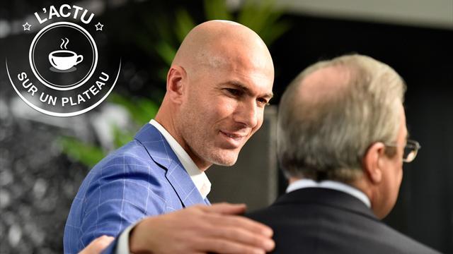 Zidane, Coupe de France, Loeb, NBA : l'actu sur un plateau