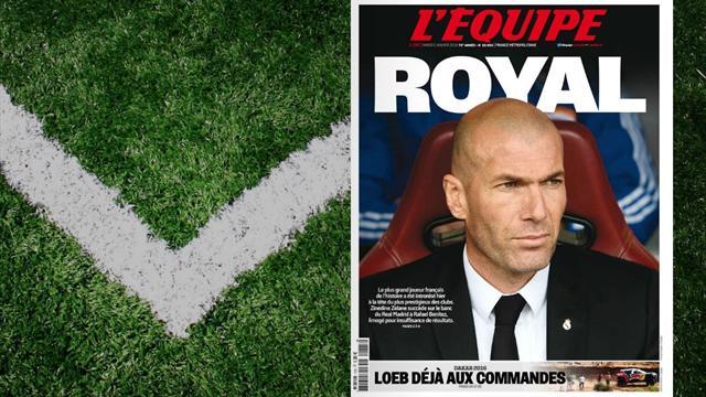 """Le """"défi fou"""" de Zidane : la presse entre excitation et interrogations"""