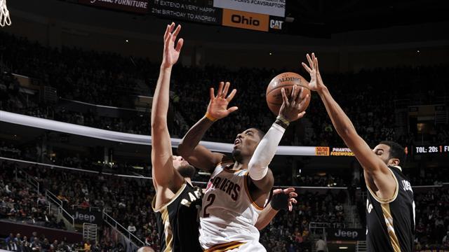 Golden State maître à domicile, Irving retrouve la forme : ce qu'il faut retenir de la nuit NBA