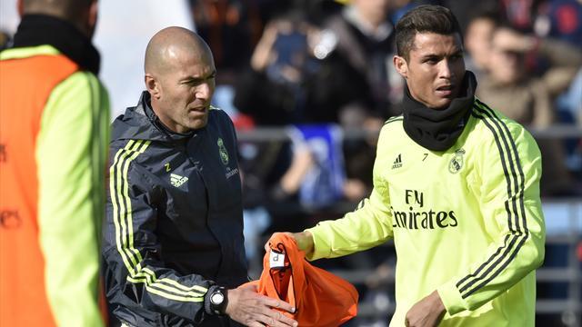 """Pour Zidane, Ronaldo """"est plus qu'intransférable"""""""